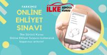 İlke Sürücü Kursu Online Ehliyet Sınavı